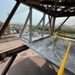 日本製鐵構内 屋根製作及び取付工事